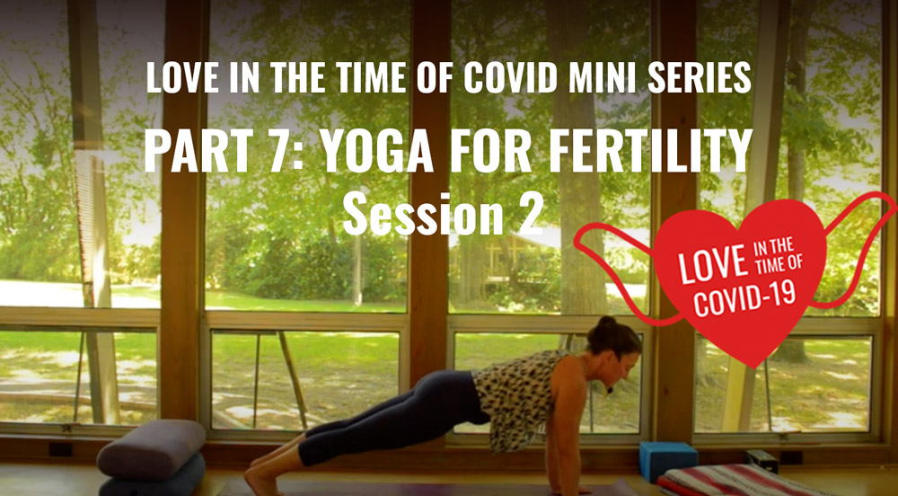 Part 7.2: Love in the time of COVID Mini Series — Yoga for Infertility Session 2